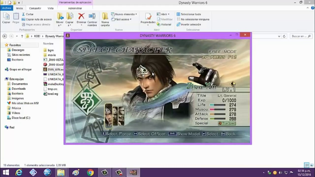 download game dynasty warriors 6 pc rip