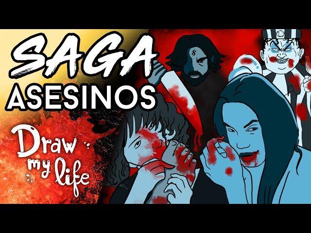 Los ASESINOS más TEMIBLES de la historia - Draw My Life en Español