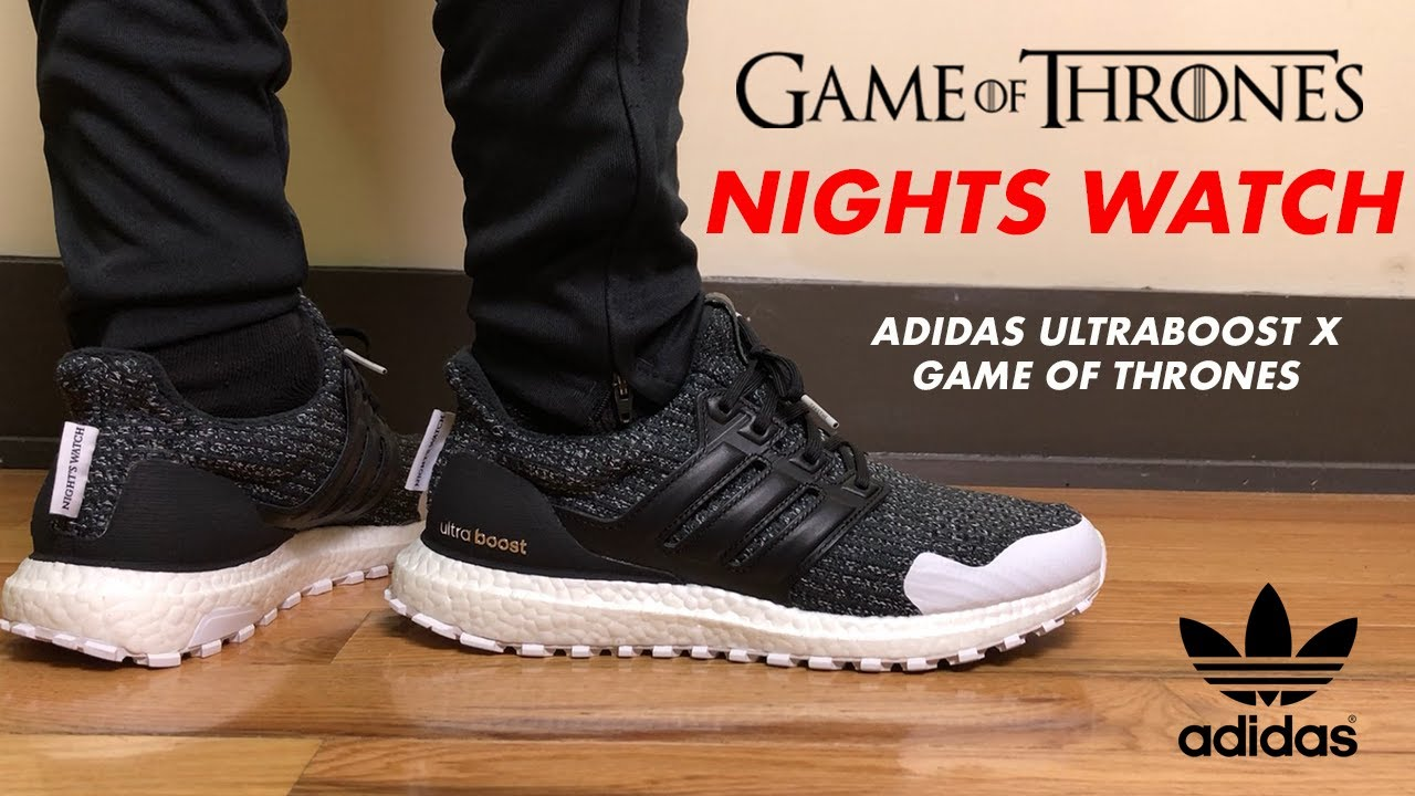 Adidas Ultra Boost x Game of Thrones Night's Watch Review and On Feet