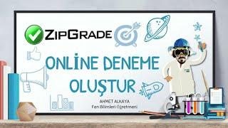 #zipgrade #onlinedeneme ZipGrade Ile Online Deneme Oluştur