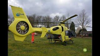 Vrouw na aanrijding in Heeze met traumahelikopter afgevoerd