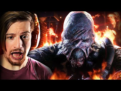 NEMESIS HAS ME SCREAMING.. (Yeah, I'm out)    Resident Evil 3 (DEMO)