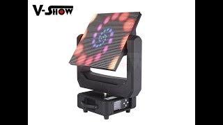 LED Moving head video panel 4096pcs  RGB 5050SMD led moving head screen