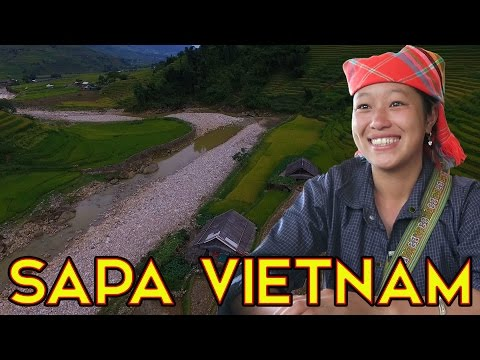 THE BEST TOUR GUIDE IN SAPA VIETNAM - VLOGGING IN VIETNAM