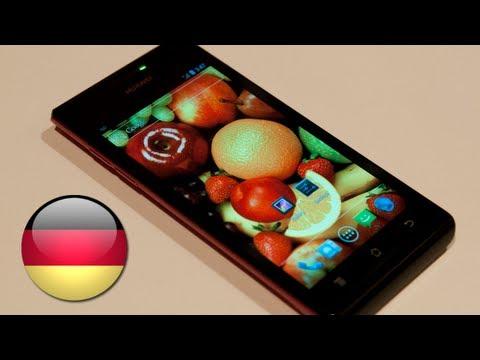 Huawei Ascend P1 Dual Core Smartphone [Deutsch]