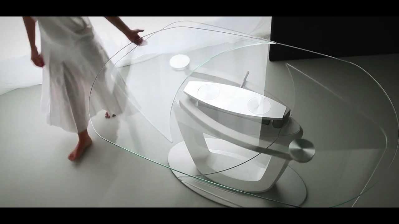 Orbital: tavolo designed by Pininfarina - YouTube