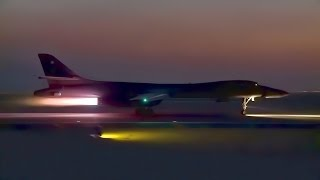 B-1B Lancer • Night/Day Takeoff + Aerial Refueling