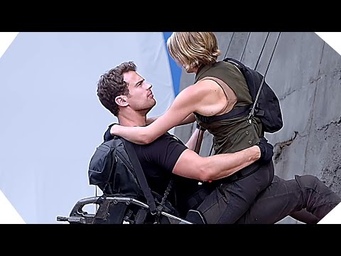 DIVERGENT 3 Allegiant - Tris and Four climb the wall [Making-of] Mp3