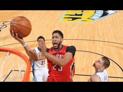 Anthony Davis Posts 31 and 15 in Win vs. Nuggets | March 26, 2017