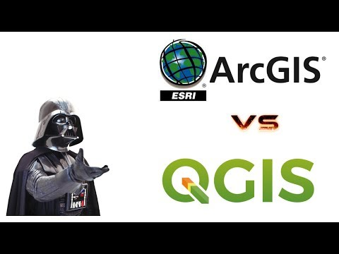 qGis Vs ArcGis💡 ¿cuál es mejor? / Vídeo VLOG - YouTube