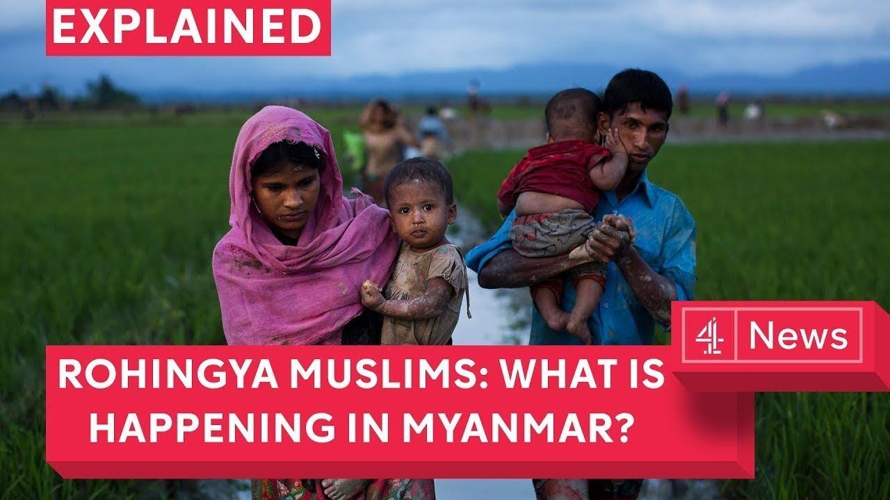 Rohingya Muslims What Is Hening In Myanmar Channel 4 News