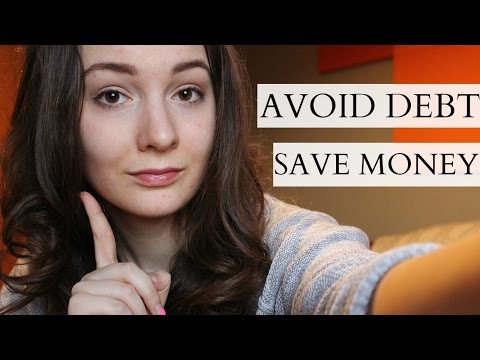 How I Avoid Debt and Save Money | Lia's Loft