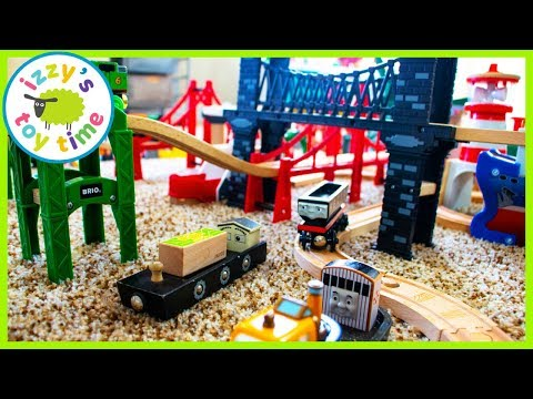 Toys for Kids! BARRINGTON AND THE HARBOR CITY! Thomas and Friends Trains for Children