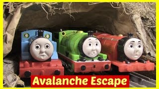 Thomas and Friends Accidents Will Happen Toy Trains Thomas the Tank Engine Episode Avalanche Escape