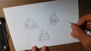 How to draw the frog - by mr.T