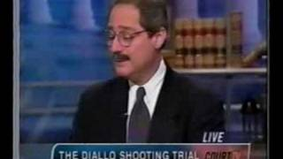 NYC Police Brutality  Lawyer Anthony Gair - Amadou Diallo Case - Court TV - February 2000
