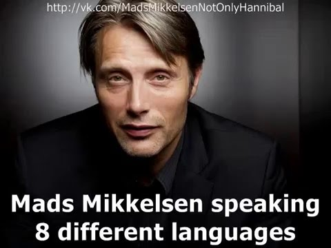 Mads Mikkelsen speaking 8 different languages