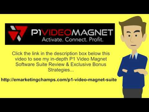 """[P1 Video Magnet Software Suite Review] Honest Review & Bonus Strategies: (P1 Video Magnet Software Suite Review) See honest review of P1 Video Magnet Suite, learn how it works & discover BONUS strategies:  http://emarketingchamps.com/p1-video-magnet-suite/  --------  Why Search Engine Results Beat Sponsored Links Everytime  There's no such thing as a free lunch, so you need to roll up your sleeves and research different P1 Video Magnet Software Suite review websites. So make sure you scoff at anyone who tells you something is """"free."""" If you receive traffic from some place and it costs nothing, but you had to spend 300 hours to generate it, was it free? No, at worst, you could have earned minimum wage for those 300 hours. That is—at worst—it cost you 300 hours multiplied by minimum wage.  At best, you could have been doing something productive with your business that would have earned you ten times more than minimum wage during each of those hours and having a quality P1 Video Magnet Software Suite bonus package would help as well. So don't listen to this """"free traffic generation"""" nonsense. Even traffic that comes from search engines has a cost – and that's your time.  Now, with that caveat in mind, there is such thing as relatively cheaper traffic. If it takes you very little time to optimize your search for the search engines—and the result is considerable """"organic"""" search engine traffic—well, great; you should generate traffic through search engine optimization.  In general, traffic that comes from search engine optimization does actually turn out to be quite cheap. In exchange for the time it takes to create some relevant content, use the proper tags, and exchange a few links, you could get a steady flow of several hundred visitors per day to your site.  If your wage is the only cost, this will be relatively cheap in comparison to pay per click traffic, which could cost you several dollars per visitor.  Other than simply being cheap, organic search engine traffi"""