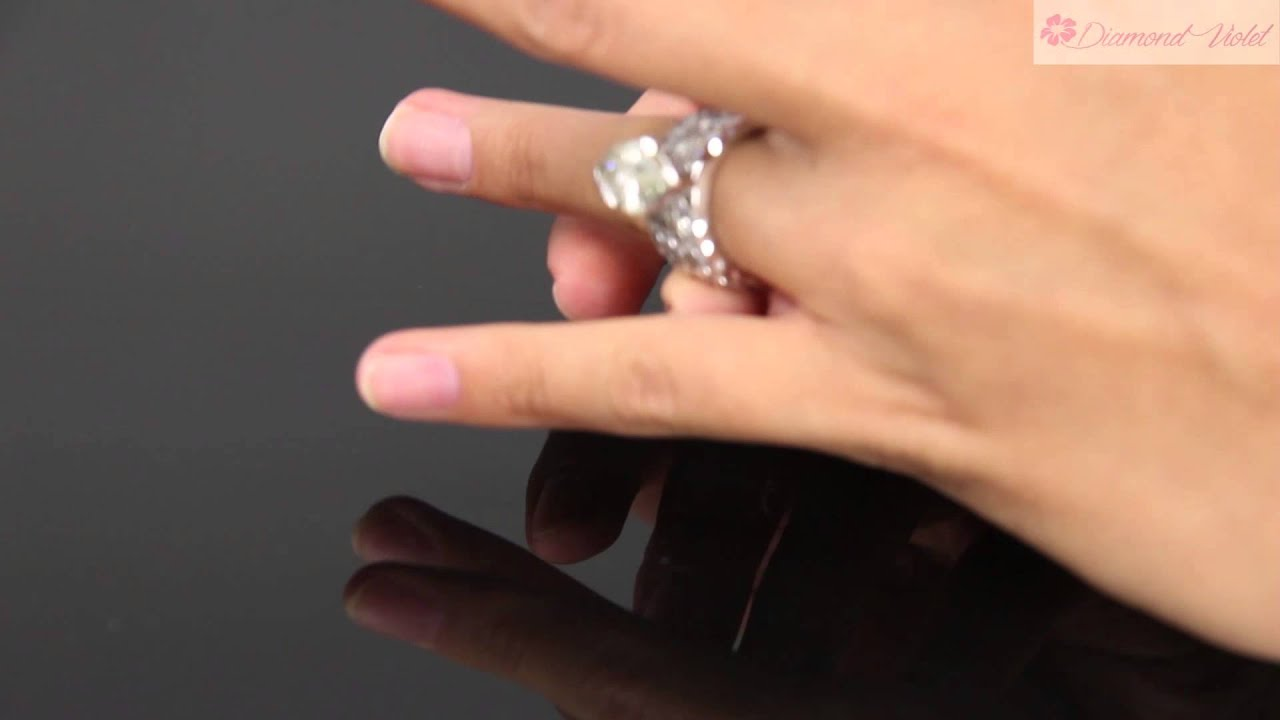 7 57ct estate vintage marquise diamond engagement wedding