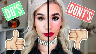COMMON Makeup Mistakes to Avoid! DO'S & DONT'S!