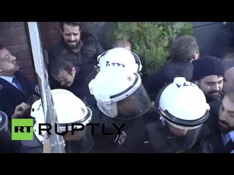 Turkey: Police raid Koza Ipek Holding's Istanbul offices ahead of general election