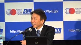 FPCJ Press Briefing: Japan's Role in the Global Economy ― Before the G7 Summit