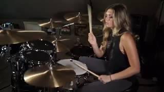 "Breaking Benjamin ""Defeated"" [Drum Cover]~Brooke C~"