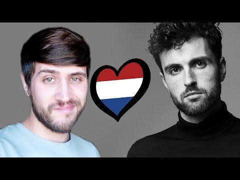 Reacción React Duncan Laurence Arcade The Netherlands