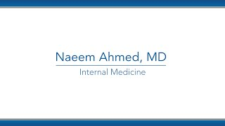 Naeem Ahmed, MD video thumbnail