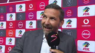 Absa Premiership | Pirates v Sundowns  | Post-match interview with Josef Zinnbauer
