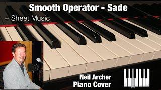 Smooth Operator - Sade - Piano Cover