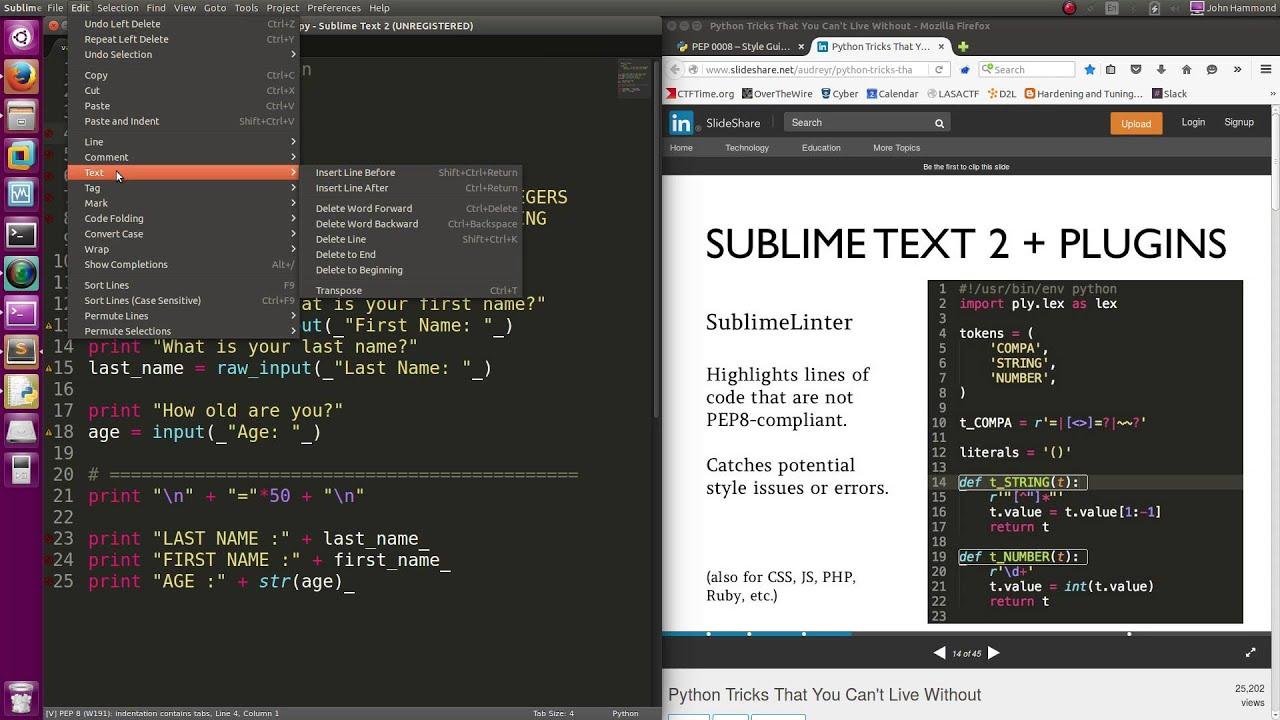 Python 04: PEP8 Coding