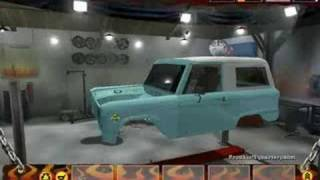 monster garage level 1 car part 1