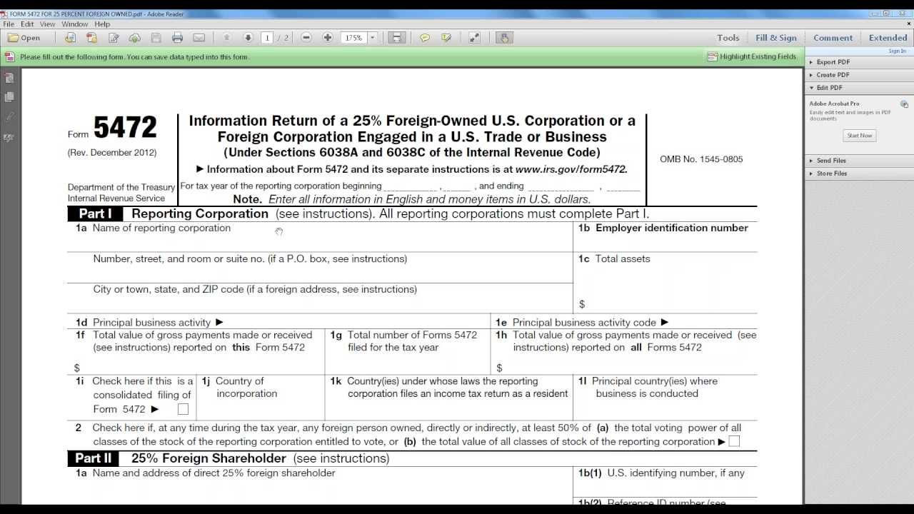 Saving taxes and international tax plan form 5472 youtube saving taxes and international tax plan form 5472 falaconquin