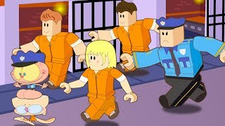 MONGO and Drongo at ROBLOX Jail Break-cartoon-animation of Roblox