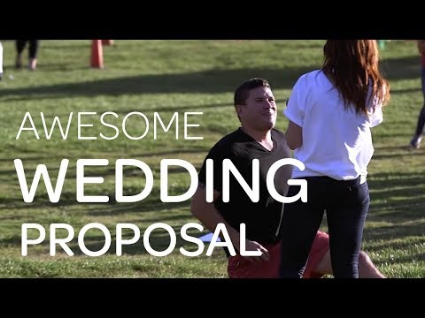 AWESOME WEDDING PROPOSAL - School Teacher Gets A Big Surprise