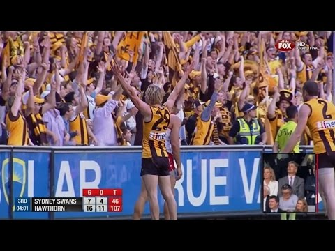 2014 AFL Grand Final - Hawthorn Vs Sydney (AFL Live commentary)