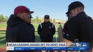 NCAA leading Aggies set to host Yale