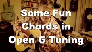 Some Fun Chords in Open G