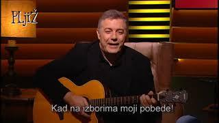 Mićko, Voja, Draža - ŠTO SAM SREĆAN ceo song (PLjiŽ S02 E09 - 30.11.2018.)