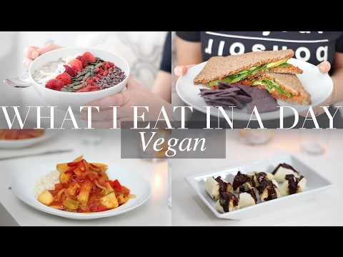 What I Eat in a Day #18 (Vegan/Plant-based) | JessBeautician