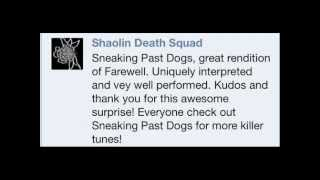 Sneaking Past Dogs - Farewell (Shaolin Death Squad cover)