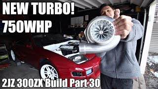 Twisted Motion GTX3582r TURBO FOR THE ZUPRA | 2JZ 300ZX Build Part 30