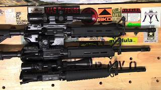 Palmetto State Armory-Premium , Freedom and Ptac uppers. Which Upper was the most Accurate?