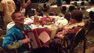 Russian accordionist Mikhail Smirnov Maui Hawaii