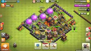 Clash of clans:giant vs golem