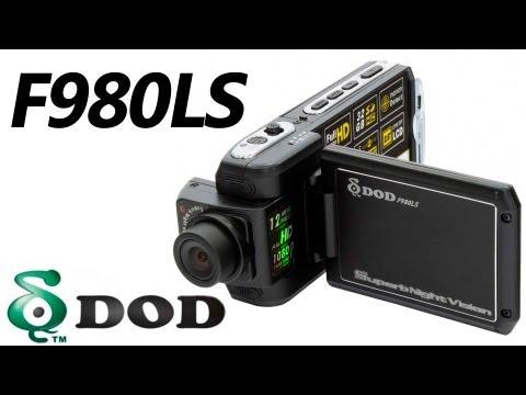DOD F980LS - видеорегистратор - видео обзор 130.com.ua