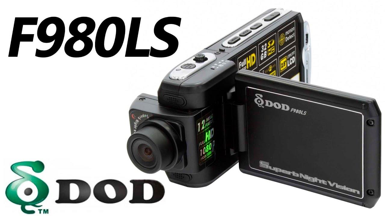 Видеорегистратор DOD LS430W - обзор + тест-драйв (распаковка, тест .