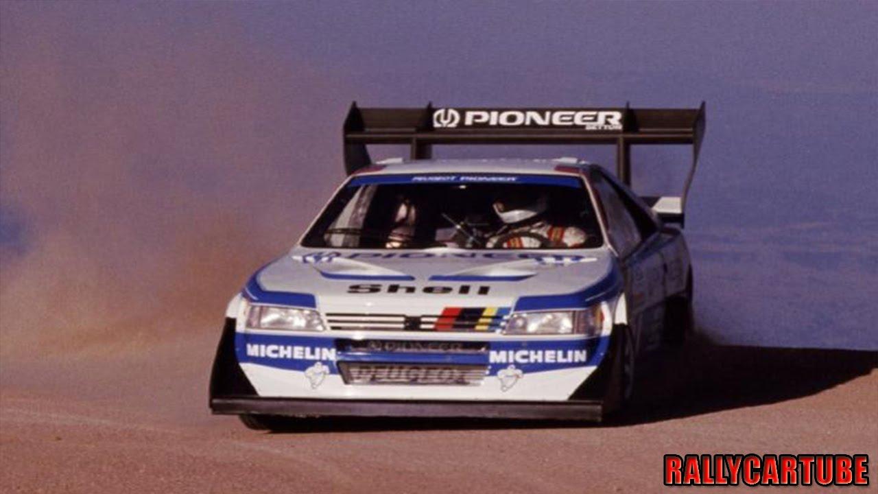 Peugeot 405 T16 Gruppo B Pikes Peak 1988 Ari Vatanen Pure Engine