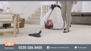 Introducing...Vax Energise Vibe Cylinder Vacuum Cleaner Range
